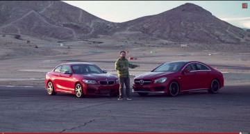 Motor Trend puts Mercedes CLA 45 AMG up against BMW M235i