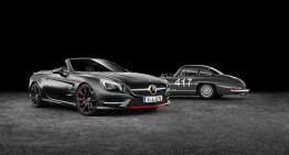 Mercedes-Benz SL 417 Mille Miglia special edition bound for Geneva