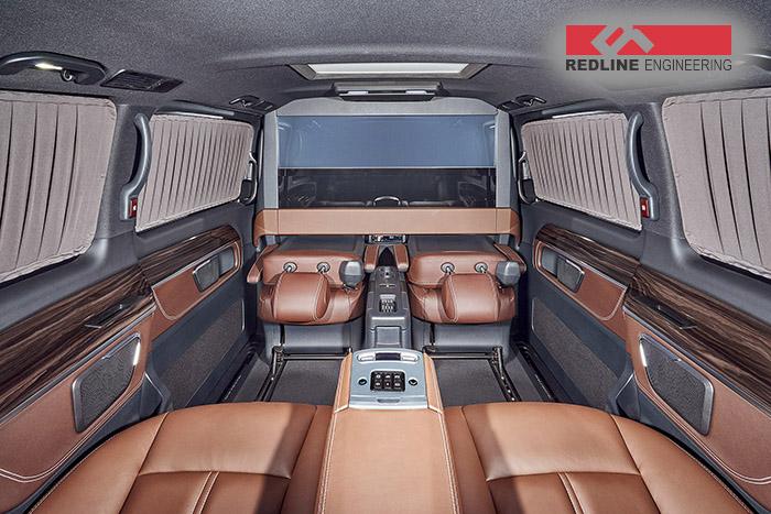 Mercedes V-Class tuning interior