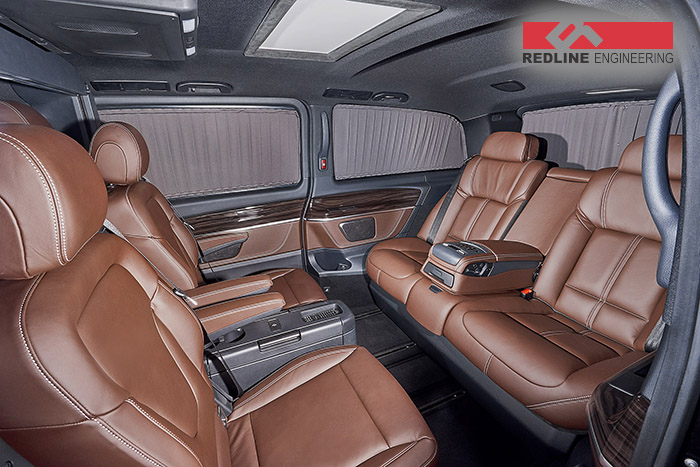 The portable office. Mercedes-Benz V-Class by Redline Engineering
