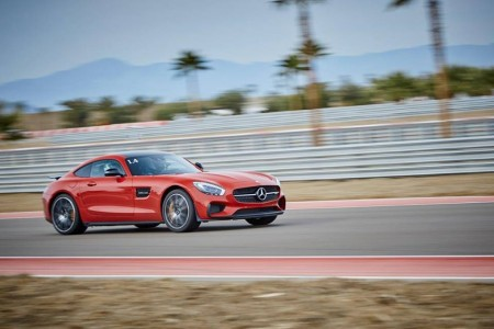 Thermal Club Palm Springs California AMG GT S