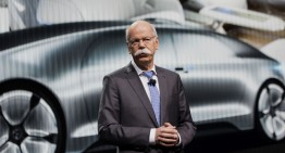 Mercedes CEO Dieter Zetsche is the new president of ACEA