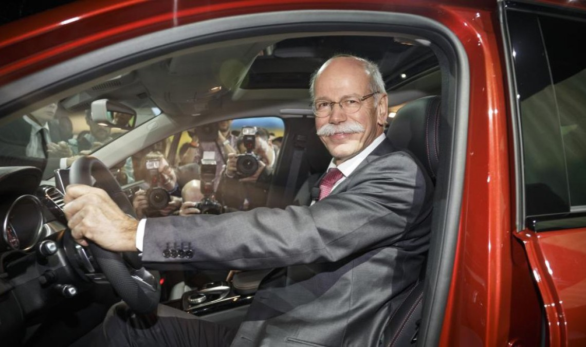 Dieter Zetsche gets some pocket money