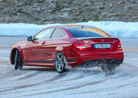 Mercedes-Benz Winter Driving Eventt