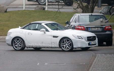 Mercedes-Benz SLK (SLC) facelift | MercedesBlog.com