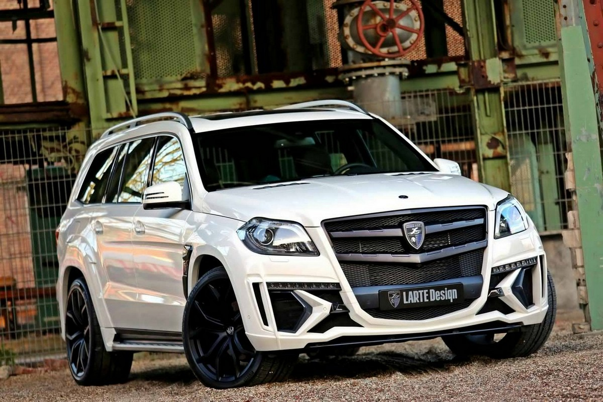 Larte Design Takes The Mercedes Benz Gl And Crowns It The
