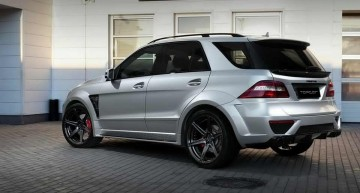 TopCar reveals the dark side of the Mercedes-Benz ML 63 AMG