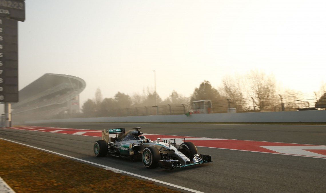 F1 Barcelona tests – first two days