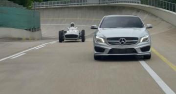 Juan Manuel Fangio's $30 Million Mercedes stars in 2015 CLA spot