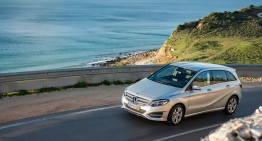 Chasing the Atlantic in a Mercedes-Benz B-Class