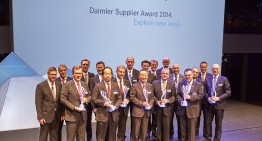 The winners of Daimler's Supplier Award