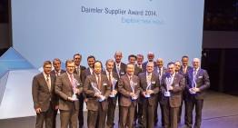The winners of Daimler's Supplier Award