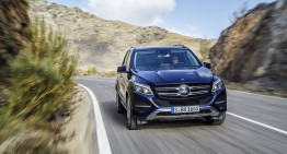 The Mercedes-Benz GLE on its way to get the TOP SAFETY PICK+ award