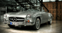 60 Years since the inception of Mercedes' iconic 190 SL