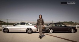 Two ladies, two cars: The 190 Evo II vs. the new C 350 e