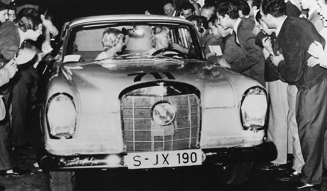 Ewy Rosqvist – The Baroness of Mercedes-Benz