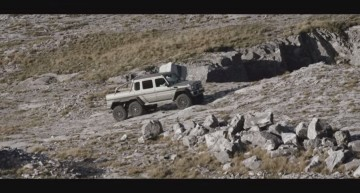 Move mountains with Mercedes-Benz G 63 AMG 6×6