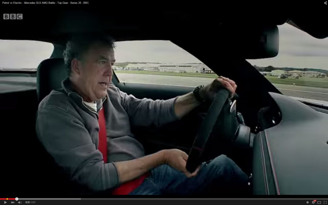 The most fascinating five Mercedes tests made by Jeremy Clarkson