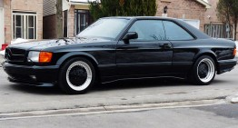 An exclusive Mercedes 560 SEC AMG 6.0 for sale (with video)