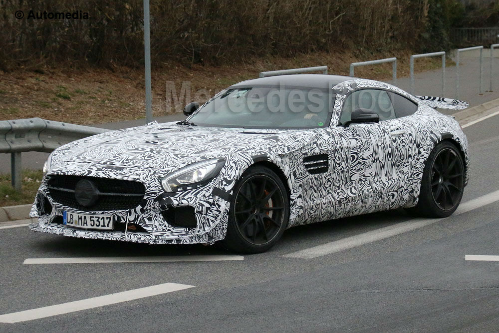 Already in tests: Mercedes-AMG GT3 road car