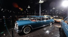 One more priceless exhibit in Ţiriac Collection: Mercedes-Benz S 600 Pullman