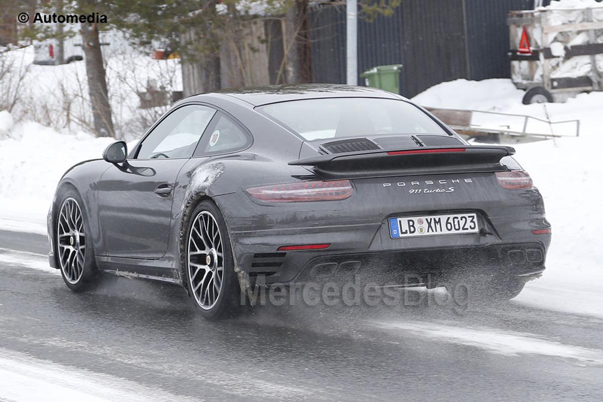 Porsche 911 Turbo facelift   MercedesBlog.com