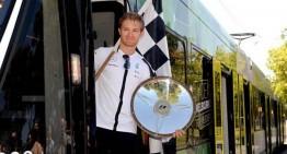 "Nico Rosberg riding ""a streetcar named Desire"""
