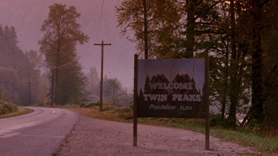 The trick with a Mercedes-Benz in Twin Peaks, California