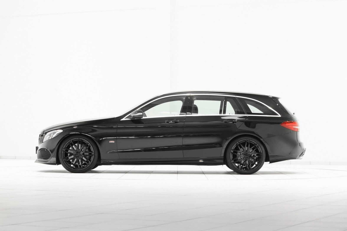 mercedes benz c class amg line estate modified by brabus. Black Bedroom Furniture Sets. Home Design Ideas