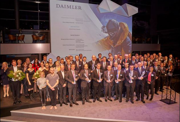 daimler supplier award'