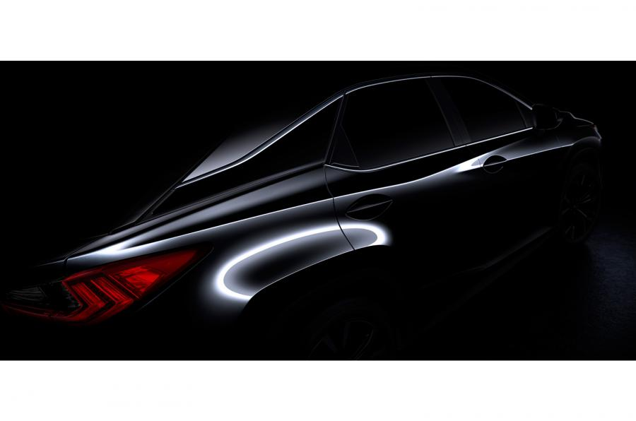 Mercedes GLE gets new rival. 2016 Lexus RX teased ahead of NY