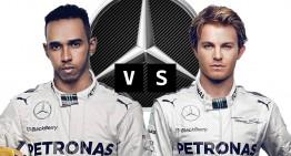 Hamilton vs Rosberg, round two in F1 2015