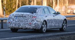 New, more revealing spy shots of the 2016 Mercedes-Benz E-Class