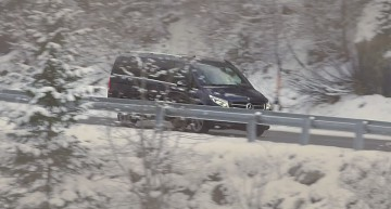 Mercedes-Benz V-Class proves it can be poetry in motion