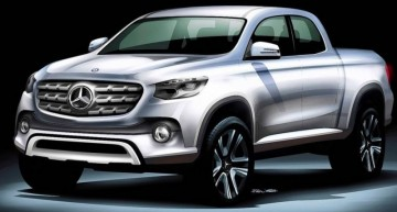 Mercedes pick-up truck inches closer to reality