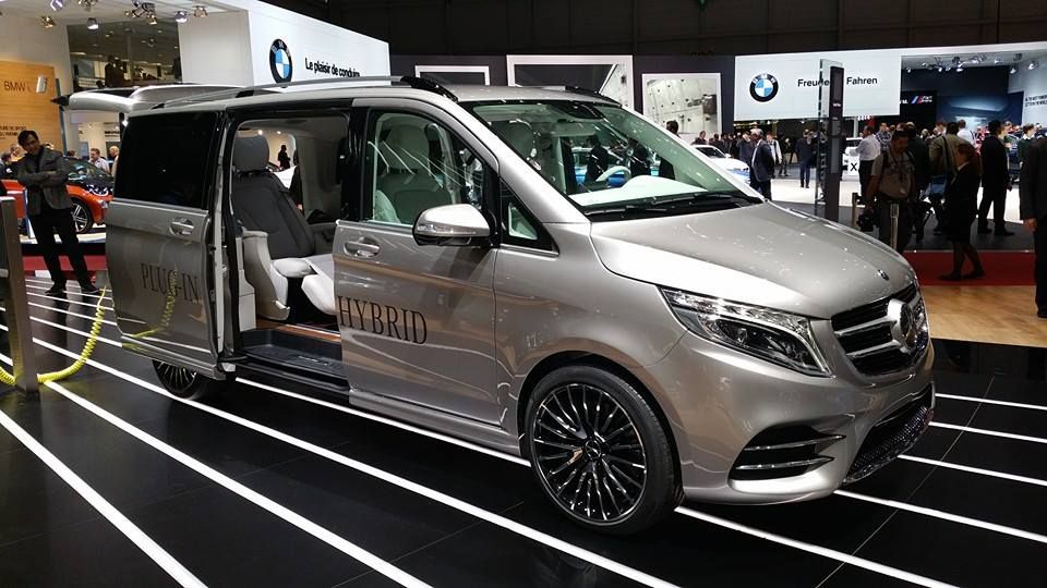 GENEVA LIVE: Mercedes-Benz V-ision e Concept (VIDEO UPDATE)