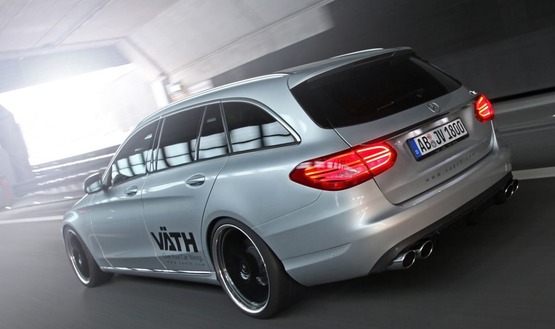 German tuner Väth has its way with the C-Class Estate