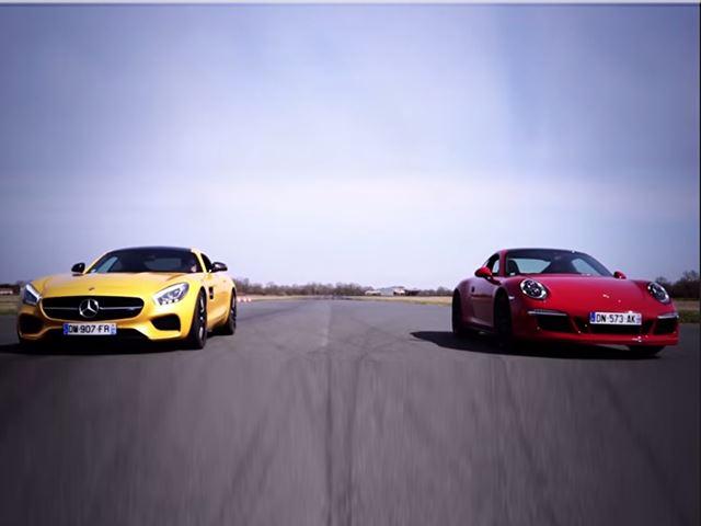 AMG GT S vs Porsche