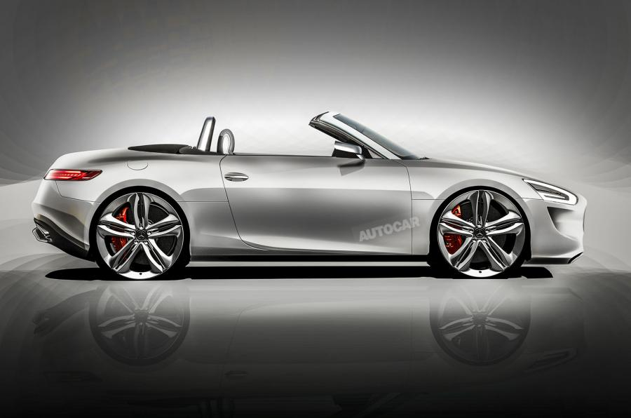 Autocar render Audi TT rival