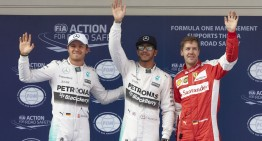 China F1: Third pole for Hamilton