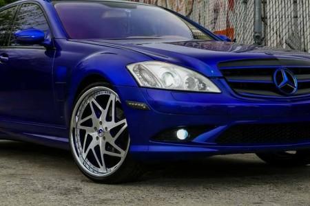 Forgiato 7 Big Blue S-Class