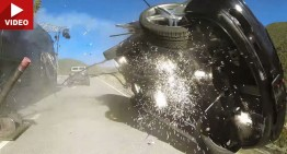 The flying Mercedes and the crazy stunts of Fast & Furious 7