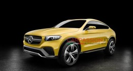 Mercedes-Benz GLC Coupe Concept leaked ahead of Shanghai