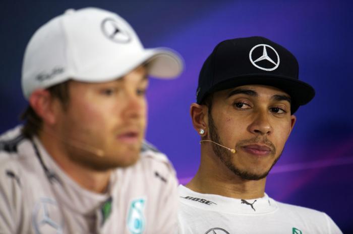 Nico vs Hamilton 3