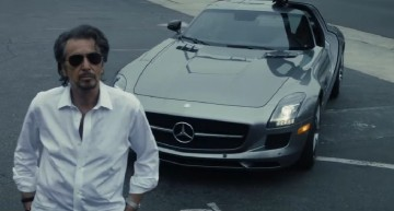 Al Pacino drives an SLS AMG in new movie: A car for a rock star!