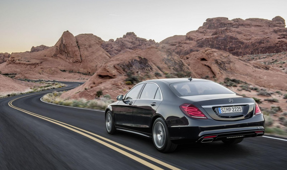 Rollercoaster ride in the S 500 Intelligent Drive