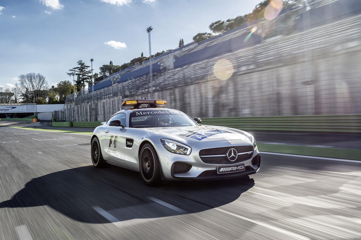Safety car driver 4