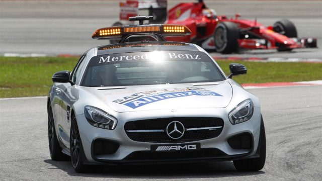 Safety car driver 7