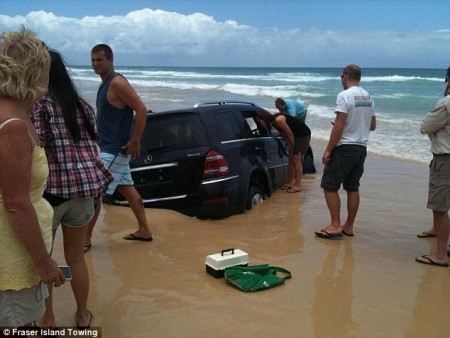 Sinking SUV 6