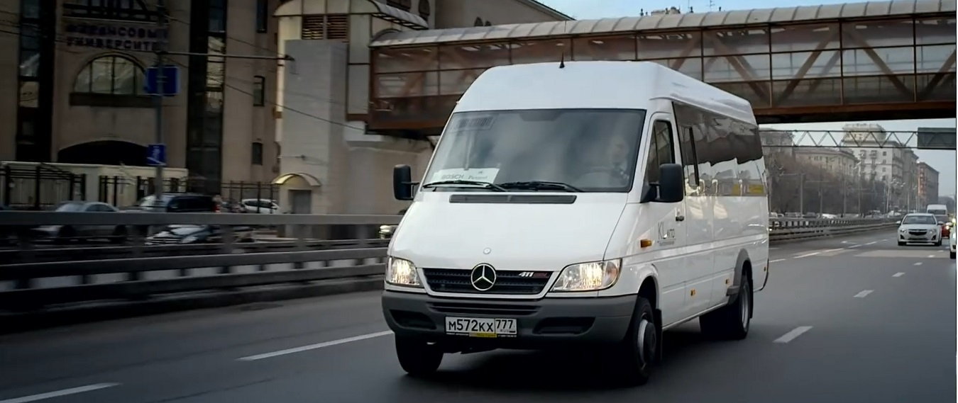 A german in moscow the mercedes benz sprinter classic for Mercedes benz residual value